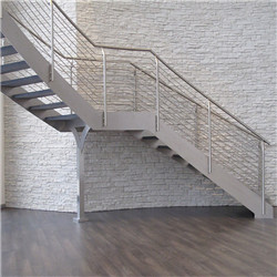 Contemporary banisters indoor steel staircase indoor curved staircase - 副本 - 副本 - 副本 - 副本 - 副本