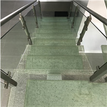 Hawaii cracked glass step stairs